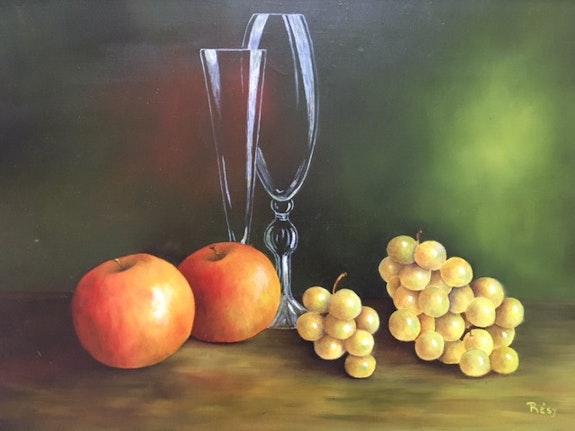 Pommes et raisins. Résy Résy