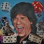 Mick Jagger. Gérard Bauer
