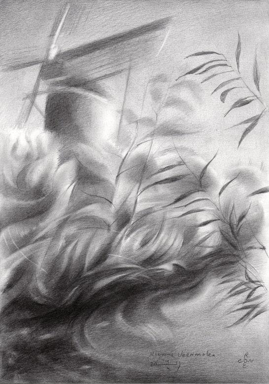 Nieuwe Veenmolen - 19-10-17. Corné Akkers Corné Akkers Kunstwerken