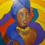 Femme africaine. Michèle Devinante