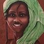 Sourire d'Afrique. Isabelle Leleu