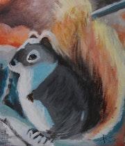 «L'écureuil».