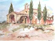 Chapelle en Provence. Annie Roger