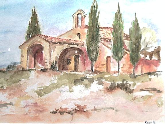 Chapelle en Provence. Annie Roger Annie Roger