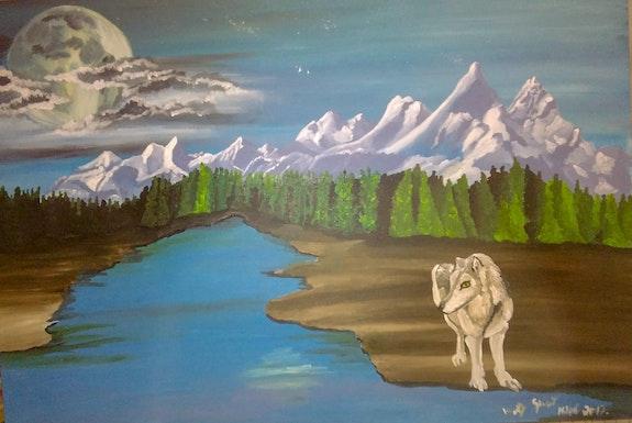 Wolf Spirit. Mireille Vast Mireille Vast