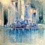 Blue City. René Martinez