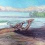 Dragon on the Beach. Graham Coulthard