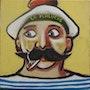 «Moustache» le marin de Thibo. Thibo