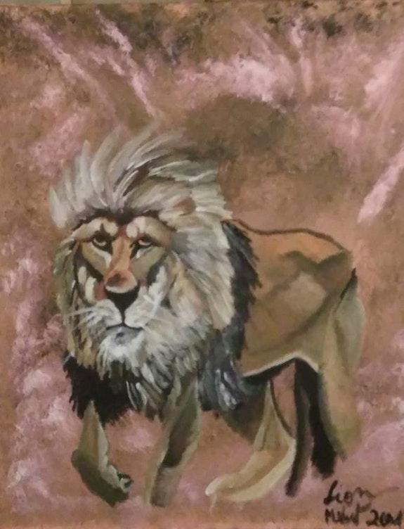 Lion. Mireille Vast Mireille Vast