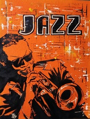 Jazz Street Art. L'aquarelle Autrement