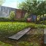 Le jardin. Olivier Ohms