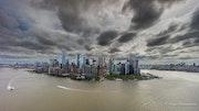 Manhattan vu du ciel.