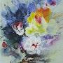 Composition florale. Jean Claude Vildé