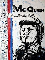 Steve Mc Queen, «Le Mans». L'aquarelle Autrement