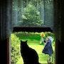 Le chat noir. Marie Carteron