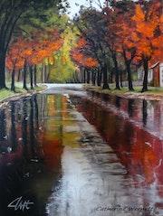 Novembre sous la pluie.