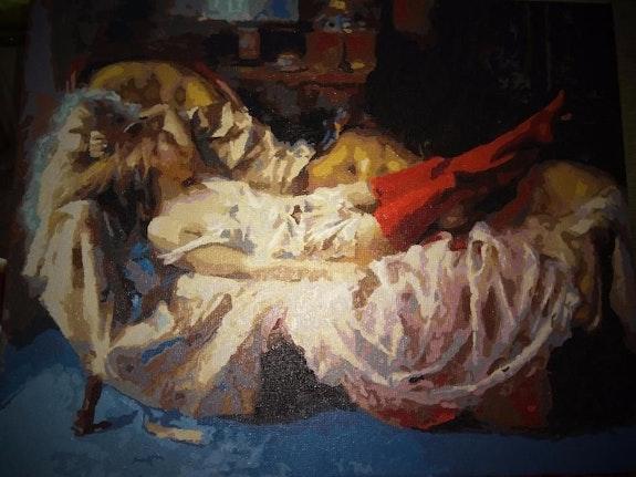 She sleep beautiful. Lena Andreeva Lena Andreeva