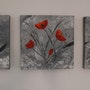 Coquelicots - Poppies. Florence Del Toso
