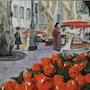 Marché provençal. Annie Roger