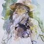 Portrait de Claude Monet. Jasco