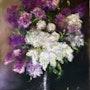 Bouquet de lilas. Résy