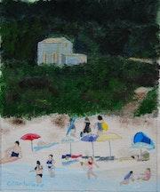 La plage de Bodri.