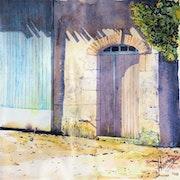 La vieille porte.