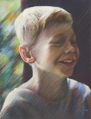 Wouter – 08-11-17 (sold). Corné Akkers Kunstwerken