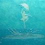 Von neuem - abstrakter Fantasietänzer. Liza Wheeler