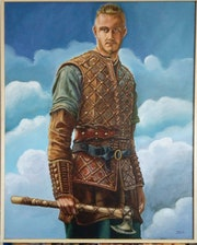 Bjorn piel de hierro (Serie Vikings). F. Lara-Artísta Plástico
