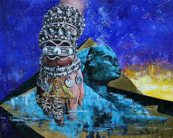 L'ombre des pyramides. Zet Michell Zet Michell