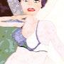 Femme au turban. Valérie Guillem