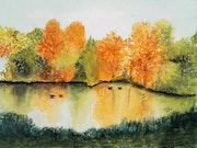 Lumières d'automne. Mimi