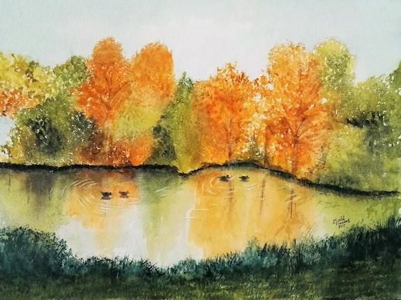 Lumières d'automne. Michèle Truchot Mimi