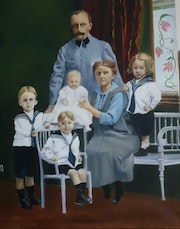 Famille 1919. Anne-Marie Gallot