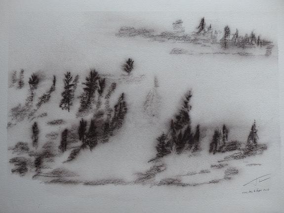 Hiver dans les Vosges.  Jean Paul Faivre