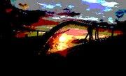 Coucher de soleil. Henry Mits