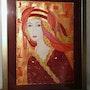 La dame rouge. Sylvie Leandre