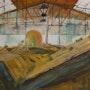 Scierie dans les Vosges. Patricia Palenzuela Kroockmann