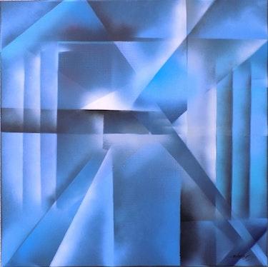 Variation sur le thème du bleu. L'atelier Gc