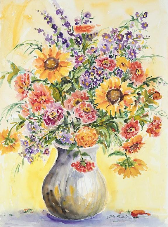 Watercolor Series 126. Ingrid Dohm Ingrid Neuhofer Dohm