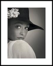Portrait de Femme. Gilles Bizé