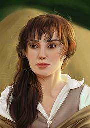 Keira Knightley (Portrait Digital).