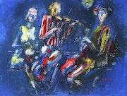 Musiciens de rue. Valeriu Buev