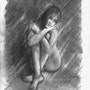 Sophie dessin de nu. Delatour