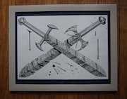 Crossed Swords - a Sketch.