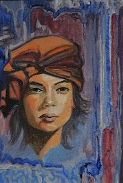 Femme au turban.