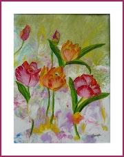 Printemps des tulipes.