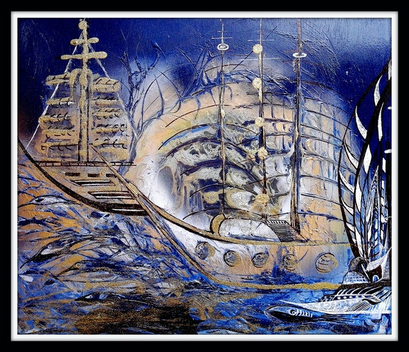 Illusion d'un skipper. Claude Valéry Claude Valery