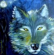 Un loup pour Lou.